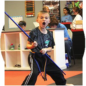 ATA Martial Arts Black Belt Attitude School Karate for Kids
