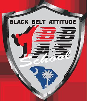 Black Belt Attitude School Logo