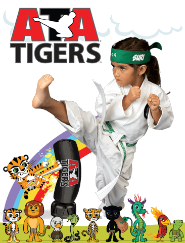 ATA Martial Arts Black Belt Attitude School - ATA Tigers